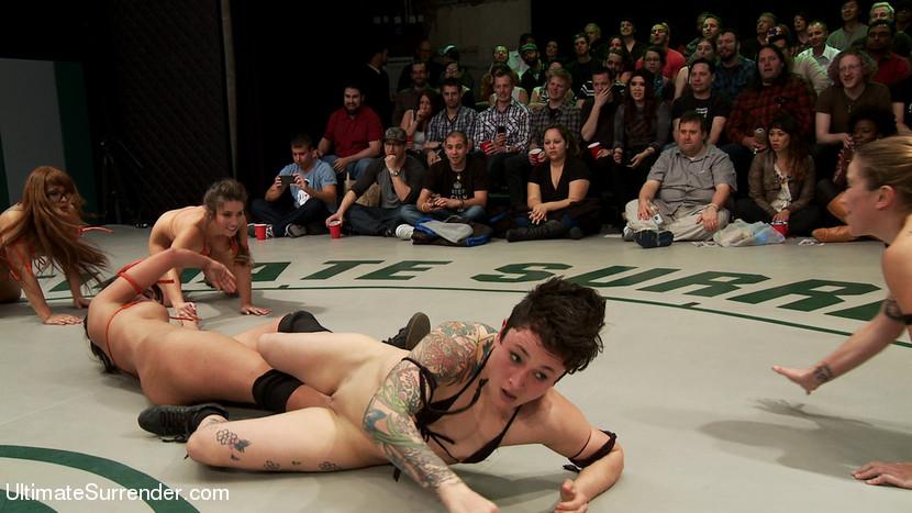 Team wrestling tag nude