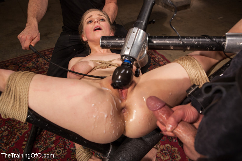 Bondage Slave Anal Training