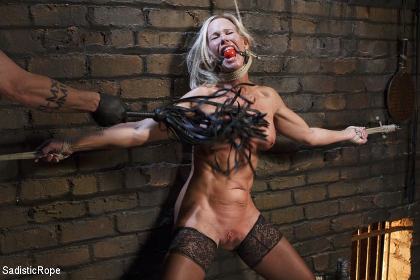 Simone Sonay in Sadisticrope Masochistic MILF July 02, 2014 Domination, Corporal  Punishment – Online Porn 24
