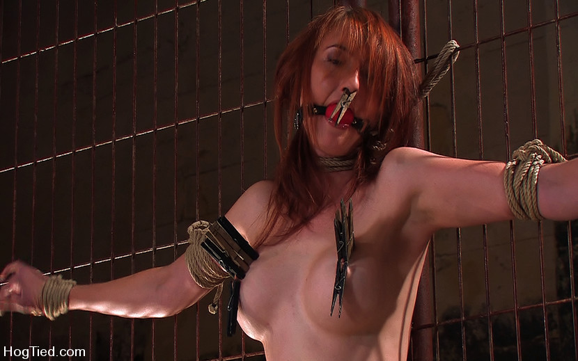 Kendra James Bondage Orgasm