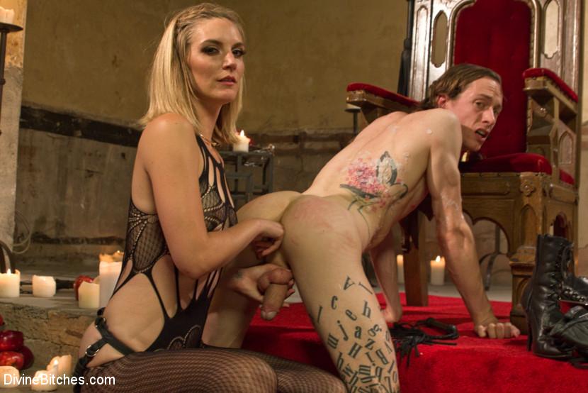 Ritual nude humiliation